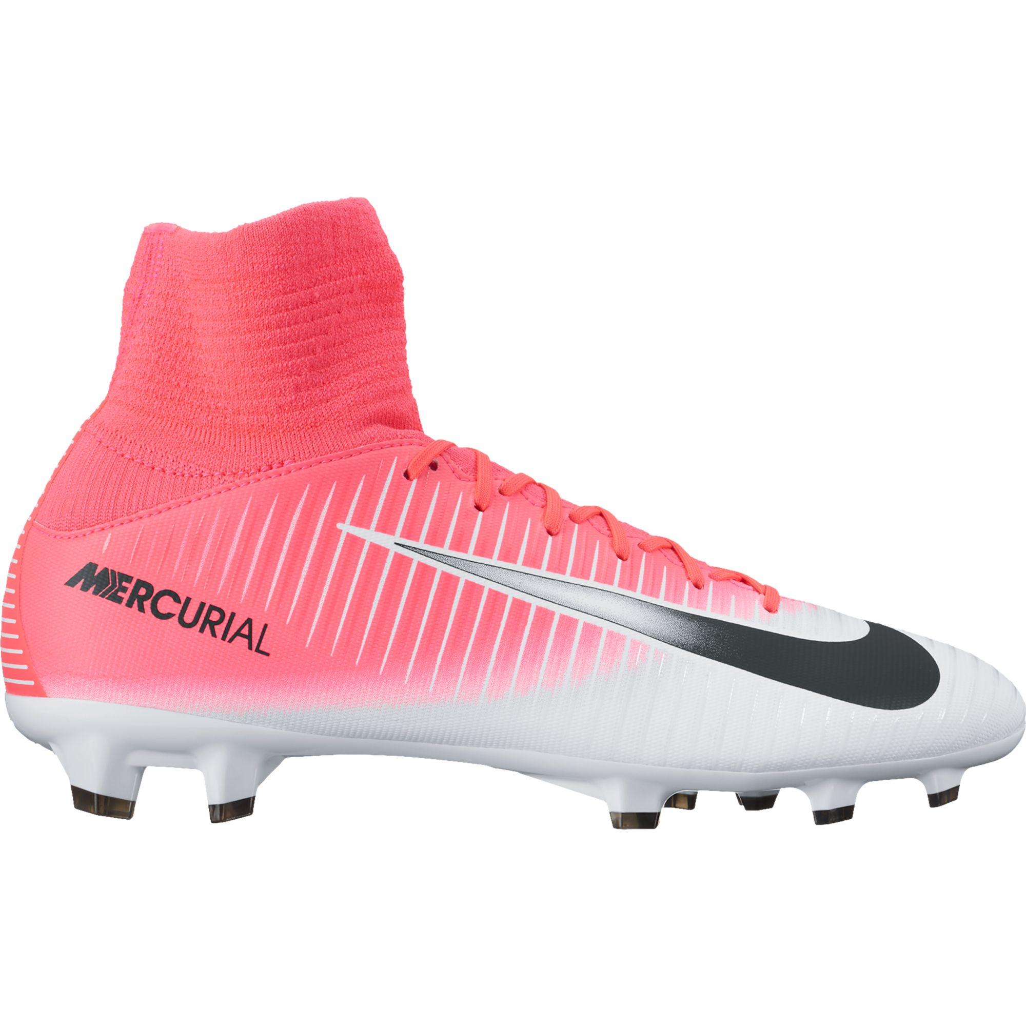 Chaussure de football à crampons pour terrain sec Nike Jr