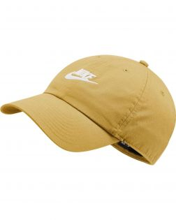 casquette nike sportswear heritage86 futura jaune 913011 700