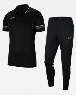 Pack Entrainement Nike Academy 21 Polo Pantalon CW6104 CW6122