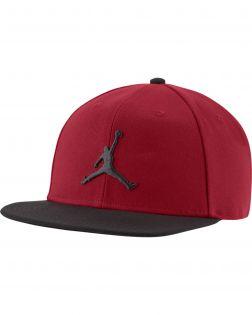 casquette jordan pro jumpman snapback rouge noire AR2118 688