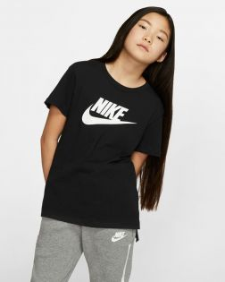 T-shirt Nike Sportswear Noir pour Enfant AR5088-010