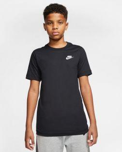 T-shirt Nike Sportswear Noir pour Enfant AR5254-010