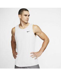 Débardeur d'entraînement Nike Dri-FIT Blanc pour Homme AR6069-100