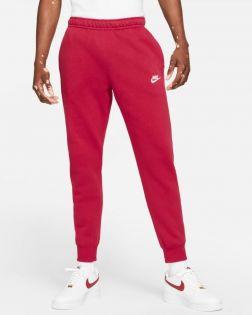 Pantalon Nike Sportswear Club Fleece Rouge pour Homme BV2671-690
