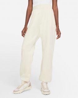 Pantalon Fleece Nike Sportswear Essential Beige pour Femme BV4089-113