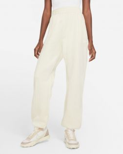 pantalon nike sportswear essential beige femme BV4089 113
