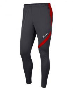 Nike Academy Pro Anthracite & Rouge Pantalon de survêtement pour homme
