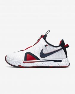 Chaussures de basketball Nike PG 4 Blanches CD5079-101