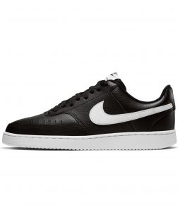 Chaussures Nike Court Vision Low Noires pour Homme CD5463-001