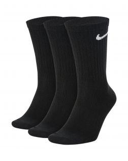 Lot de 3 paires de chaussettes Nike Everyday Taille : M Couleur : Black/White Lot de 3 paires de chaussettes