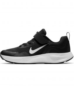 Chaussures Nike Wearallday Noires pour Enfant CJ3817-002