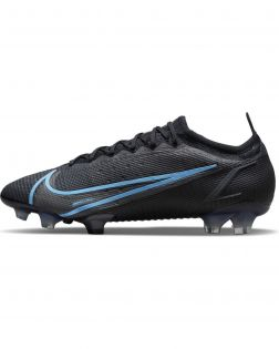 Chaussures de football Nike Mercurial Vapor 14 Elite FG Noires - Renew Pack - CQ7635-004