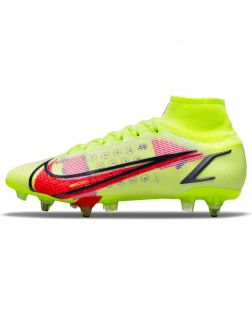 Chaussures de football Nike Mercurial Superfly 8 Elite SG-Pro AC Jaunes CV0960-760