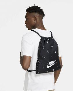 Sac à cordelettes Nike Heritage Noir CV1090-010