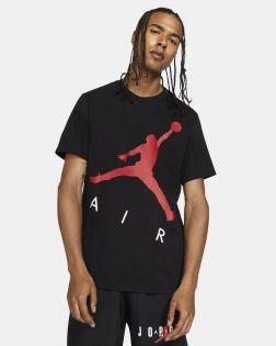 t shirt jordan jumpman air noir rouge pour homme CV3425 010