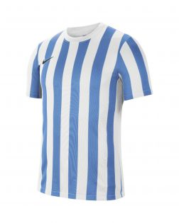 maillot nike striped division iv blanc bleu ciel homme CW3813 103