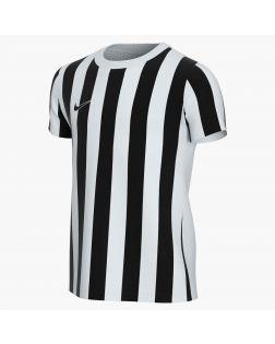 maillot nike striped division 4 blanc noir enfant CW3819 100