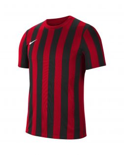 maillot nike striped division iv rouge enfant CW3819 658