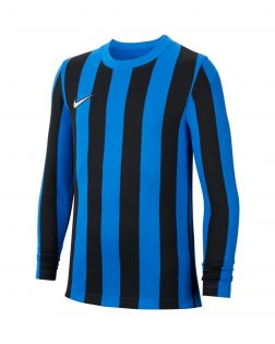 maillot nike striped division 4 bleu noir enfant CW3825 463
