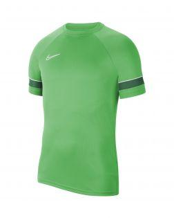 maillot entrainement nike academy 21 vert enfant CW6103 362