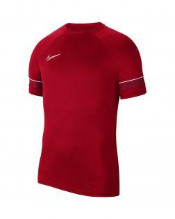 maillot entrainement nike academy 21 rouge enfant CW6103 657