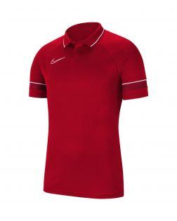 polo nike academy 21 rouge enfant CW6106 657