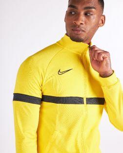 veste survetement nike academy 21 jaune homme CW6113 719