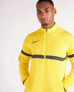 veste survetement nike academy 21 woven jaune homme CW6118 719