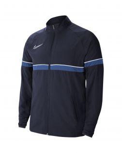veste survetement nike academy 21 woven bleu enfant CW6121 453