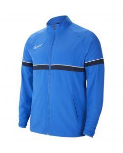 veste survetement nike academy 21 woven bleu enfant CW6121 463
