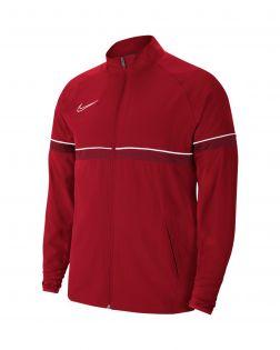 veste survetement nike academy 21 woven rouge enfant CW6121 657