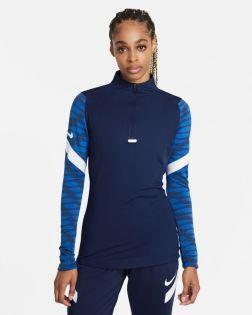 Haut d'entraînement ¼ zip Nike Strike 21 pour Femme CW6875