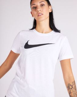 t shirt nike team club 20 blanc femme CW6967 100