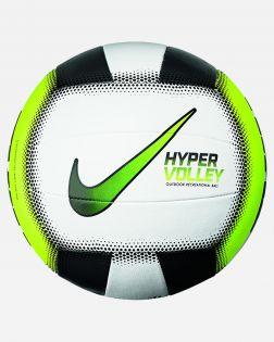 ballon volley ball nike hypervolley 18p blanc vert CZ0544 902