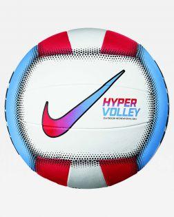 ballon volley ball nike hypervolley 18p blanc bleu CZ0544 904