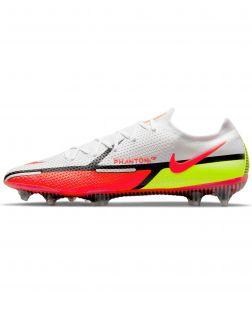 Chaussures de football Nike Phantom Gt2 Elite FG Blanches CZ9890-167