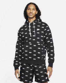 Sweat à capuche Nike Sportswear Club Noir pour Homme DC8090-011