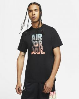 t shirt jordan jumpman classics noir pour homme DC9354 010