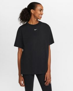 Tee-shirt Oversize Nike Sportswear Essential Noir pour Femme DH4255-010