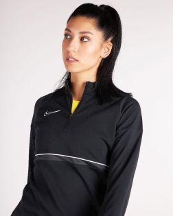Haut d'entraînement ¼ zip Nike Academy 21 pour Femme CV2653
