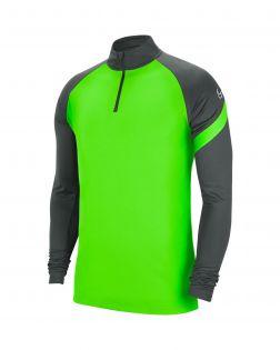 Haut d'entrainement 1/4 zip Nike Academy Pro anthracite et vert pomme pour Homme Haut 1/4 Zip pour homme
