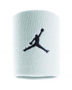 lot de 2 serre poignets blancs jordan jumpman JKN01 101