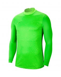 Maillot Nike Gardien III Manches Longues pour Enfant Taille : L Couleur : Green Strike/Lt Green Spark/Green Spark Maillot de gardien pour enfant