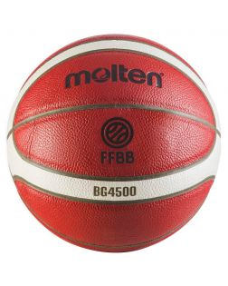 Ballon de Basket Molten Competition BG4500 - FFBB