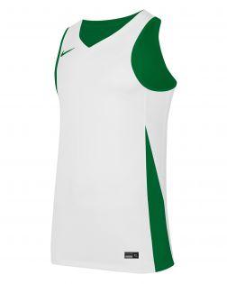 maillot de basket reversible blanc vert enfant NT0204 302