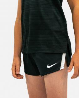 NT0305-010 Short Nike Stock Fast 2 inch Noir pour Enfant