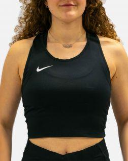 Débardeur Court Nike Team Stock Cover Top Noir pour Femme NT0312-010