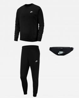 Pack Nike Sportswear Sweat Bas de jogging Banane pour Homme BV2662 BV2679 DB0490