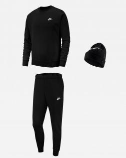 Pack Nike Sportswear Sweat Bas de jogging Bonnet pour Homme BV2662 BV2679 AV9751