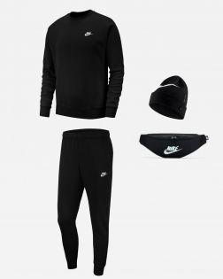 Pack Nike Sportswear Sweat Bas de jogging Bonnet Banane pour Homme BV2662 BV2679 AV9751 DB0490